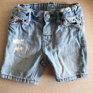 H&M denim shorts 9M distressed jean